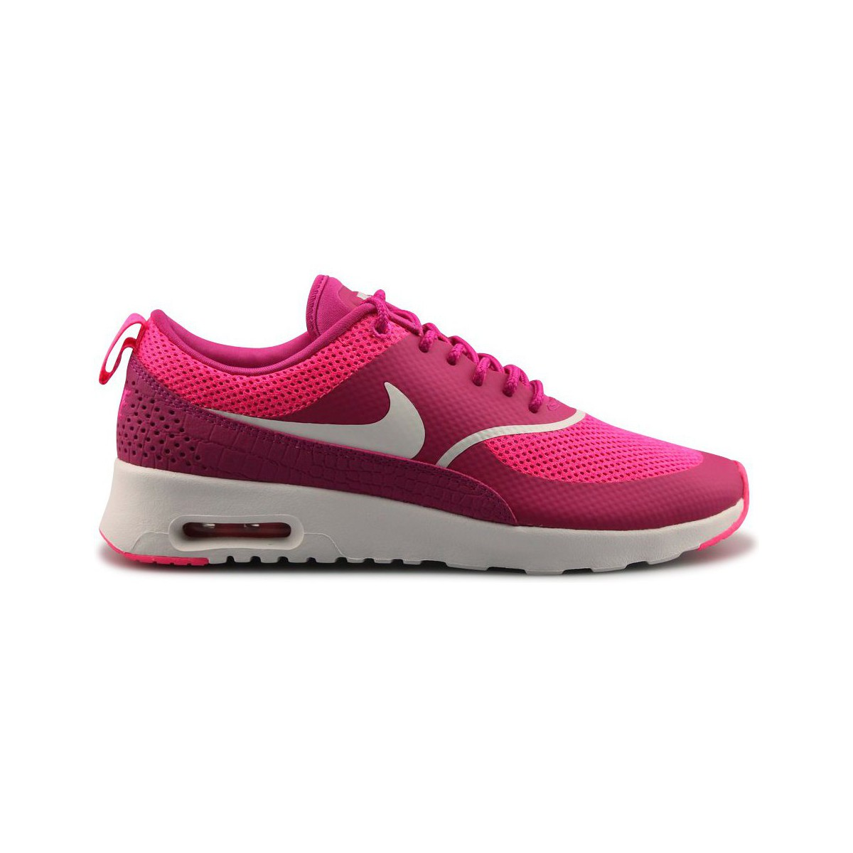 nike wmns air max thea rose rose blanc chaussures. Black Bedroom Furniture Sets. Home Design Ideas