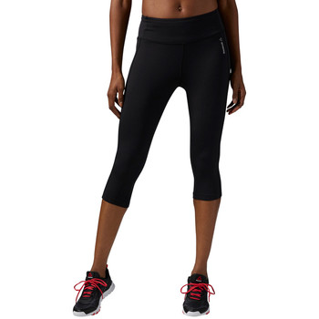 Vêtements Femme Leggings Reebok Sport Capri Workout Ready Noir