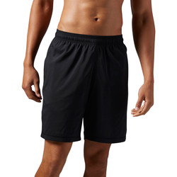 Vêtements Homme Shorts / Bermudas Reebok Sport Short Elements Poly Noir / Noir