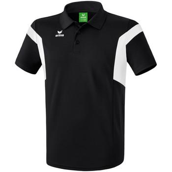 Vêtements Homme Polos manches courtes Erima Polo  Classic Team noir/blanc