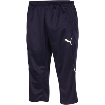 Vêtements Homme Pantacourts Puma Training pant 3/4  Essentials Pro bleu marine/blanc