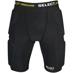 Vêtements Homme Shorts / Bermudas Select Short de compression avec PADS  6421-S noir