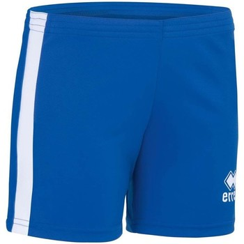 Vêtements Femme Shorts / Bermudas Errea Short femme  Amazon bleu marine/blanc
