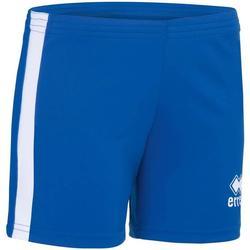 Vêtements Fille Shorts / Bermudas Errea Short femme junior  Amazon bleu marine/jaune