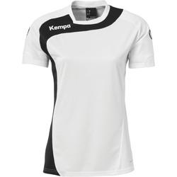 Vêtements Femme T-shirts manches courtes Kempa Maillot Femme  Peak blanc/noir