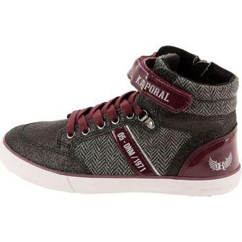 Chaussures Fille Baskets montantes Kaporal 516650 noir