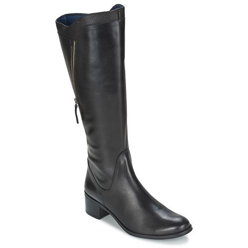 Chaussures Femme Bottes ville PintoDiBlu CARTIL Noir