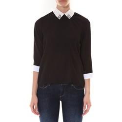 Vêtements Femme Tops / Blouses Ema Blues Top Gigi Noir Noir