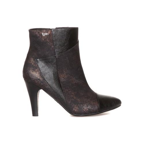 Chaussures Femme Boots LPB Shoes Bottines Adele Noir Noir