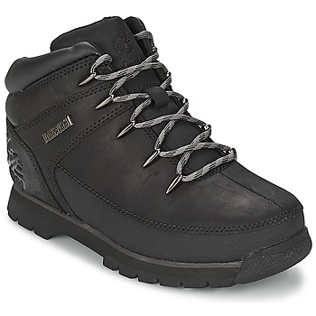 Bottines / Boots Timberland EURO SPRINT Noir Smooth / Gris 350x350