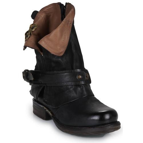 Airstep / A.S.98 SAINT BIKE Camel - Livraison Gratuite avec  - Chaussures Boot Femme