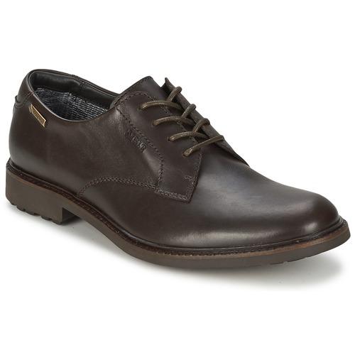 Chaussures Homme Derbies Aigle BRITTEN GTX Marron foncé