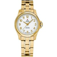 Montres & Bijoux Femme Montres Analogiques Swiss Military By Chrono SM30138.05 blanc