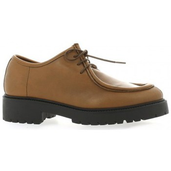 Chaussures Femme Chaussures bateau Pao Derby cuir Cognac