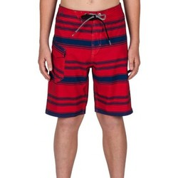 Vêtements Garçon Shorts / Bermudas Volcom Boardshort  Stone Mod Stripe - Candy Apple Vert
