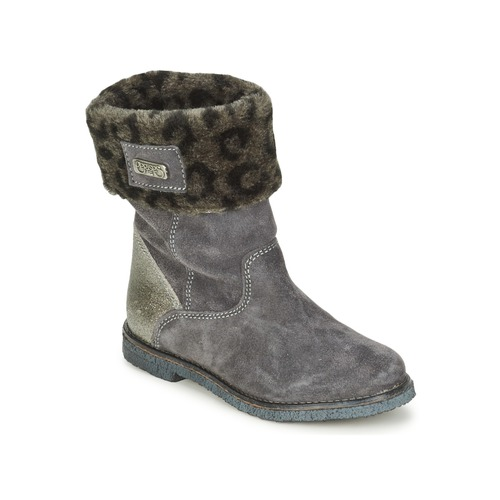 Bottines / Boots Le Temps des Cerises JUNIOR EVA Gris 350x350