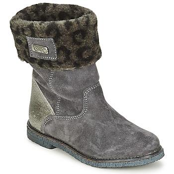 Bottines / Boots Le Temps des Cerises JUNIOR EVA Gris 350x350