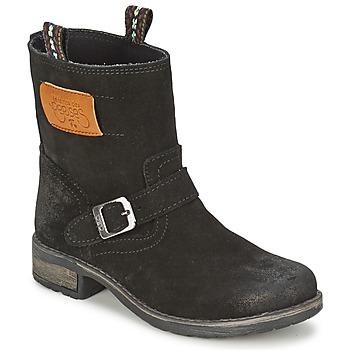 Bottines / Boots Le Temps des Cerises JUNIOR ALOE Noir 350x350