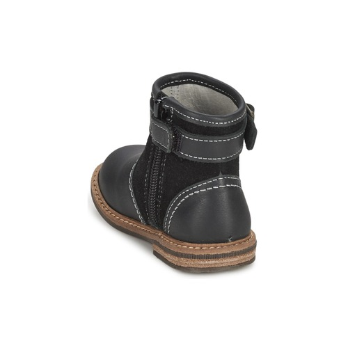 Loopi Compagnie Citrouille Garçon Chaussures Noir Et Boots SzpUVqM