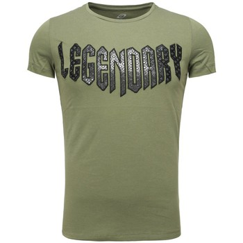 Vêtements Homme T-shirts manches courtes Carisma T-shirt fashion legendary T-shirt 4319 vert kaki Vert