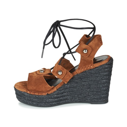 Et pieds 622908 Femme Nu Rykiel Chaussures Sandales Sonia Tabac 54R3jLqA