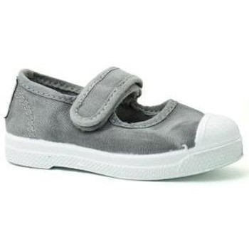 Chaussures Fille Baskets basses Natural World 476 Gris Gris