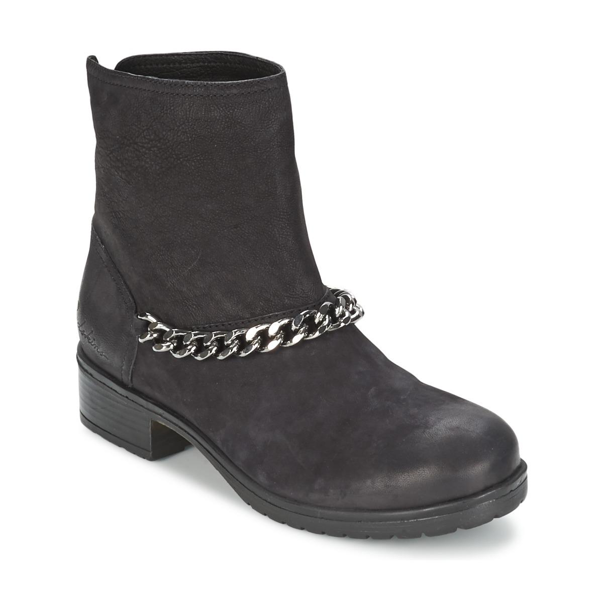 Lepica, Boots femme - Noir, 38 EURedskins