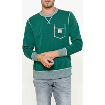 Vêtements Homme Sweats Franklin & Marshall Sweat Shirt Franklin&marshall Vert Homme Vert