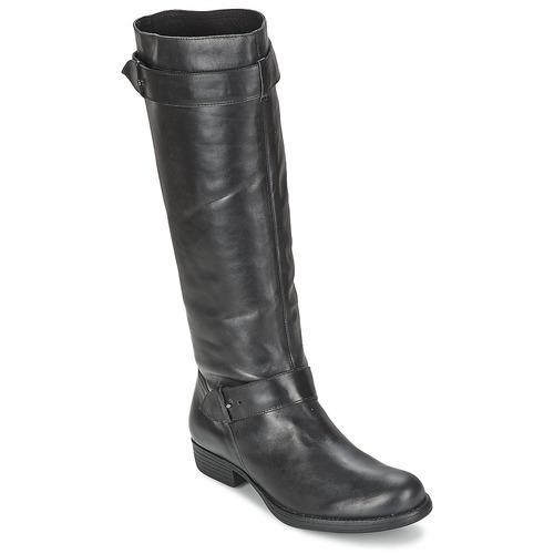 Chaussures Femme Bottes ville One Step IANNI Noir