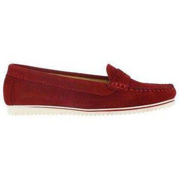 Chaussures Femme Mocassins Molina 5000 Rouge Rouge