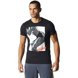 Vêtements Homme T-shirts manches courtes adidas Originals Workout Girl Noir