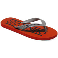 Chaussures Garçon Tongs Quiksilver Java Wordmark youth red