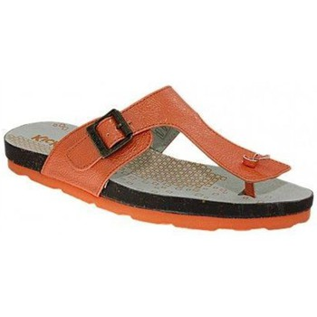 Chaussures Femme Tongs Kickers d53kick053 orange