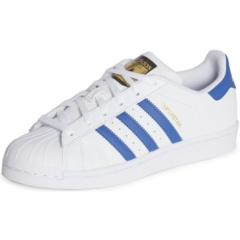 Chaussures Enfant Baskets basses adidas Originals Superstar Foundation J Blanc