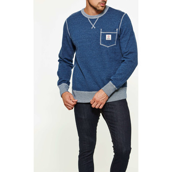 Vêtements Homme Sweats Franklin & Marshall Sweat Shirt Franklin&marshall Bleu Chine Homme Bleu