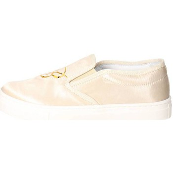 Chaussures Fille Slips on Blumarine D3552 Slip-on Chaussures Fille Satin  Beige Beige