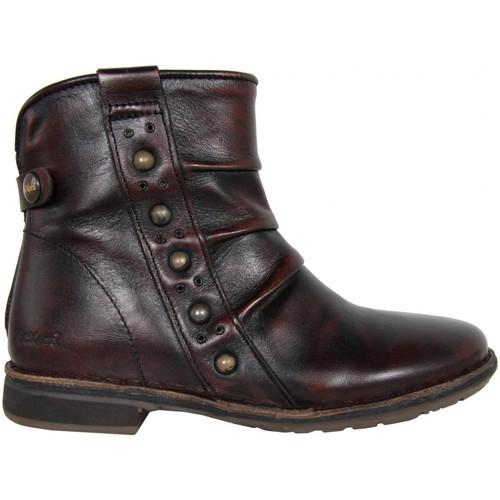 Chaussures Femme Bottines Kickers 440781-30 GROOVINGS Rojo