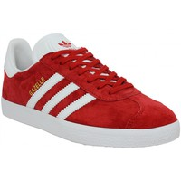 Chaussures Homme Baskets basses adidas Originals Gazelle Rouge Rouge