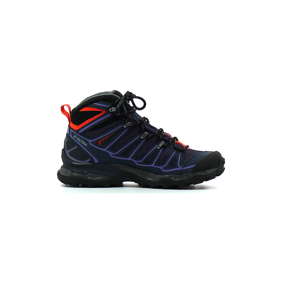 salomon x ultra mid 2 gtx w violet chaussures chaussures. Black Bedroom Furniture Sets. Home Design Ideas