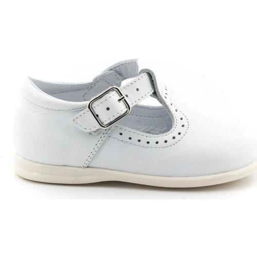 Chaussures Fille Mocassins Boni Classic Shoes Boni Max - Chaussures premiers pas Blanche