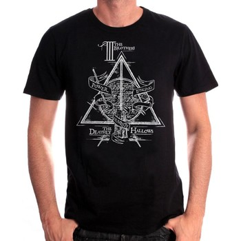 Vêtements Homme T-shirts manches courtes Cotton Division Tshirt Harry Potter - The Brothers Noir