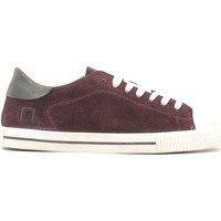 Chaussures Homme Baskets basses Date D.a.t.e. A251-NE-VE-BX Sneakers Man Bordeaux Bordeaux