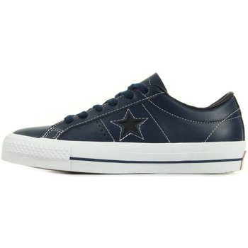 Baskets basses Converse One Star Skate Ox Navy Pink