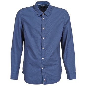 Vêtements Homme Chemises manches longues Marc O'Polo CELSUS Bleu / Marine / Rouge