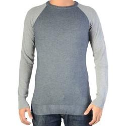 Vêtements Homme Pulls Ryujee Pull  Paddy Marine / Gris Bleu
