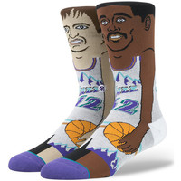 Chaussettes Stance NBA Legends  J. Stockton / K. Malone