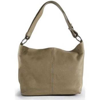 Sacs Femme Sacs porté épaule Oh My Bag Sac à Main cuir femme - Modèle KUTA taupe clair TAUPE CLAIR