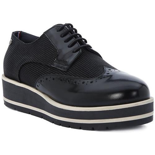 Chaussures Femme Derbies Tommy Hilfiger DANY Nero