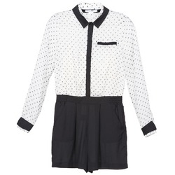 Vêtements Femme Combinaisons / Salopettes BCBGeneration ANITA Blanc