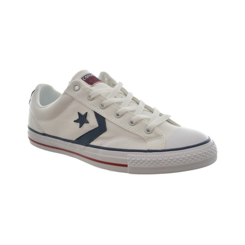 Chaussures Homme Baskets basses Converse baskets mode  star player ox blanc blanc